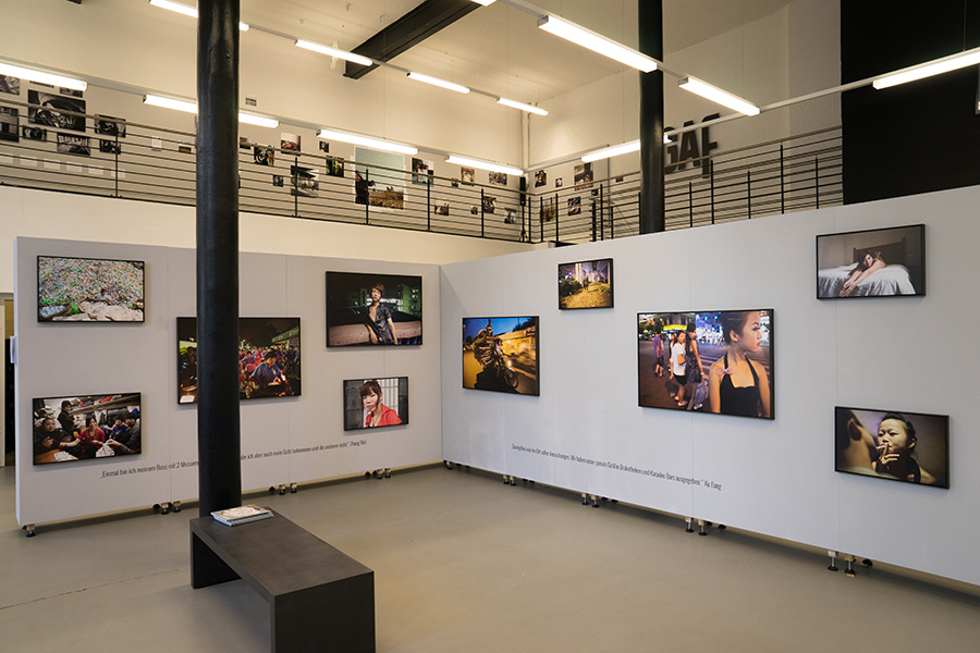 """Leaving"" Aufbrechen, Abhauen, Weggehen | Galerie GAF | Hannover 2015"